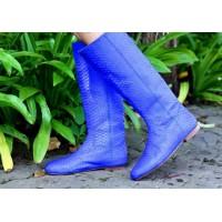 Женская обувь из кожи питона