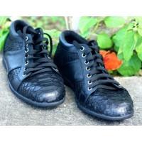 Мужская обувь из кожи питона