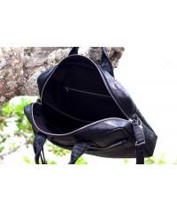 Мужская сумка из питона, черная